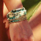 Voyager #bracelet #bellemaispasque #couleurs 🏝 #boutique #bijoux #draguignan
