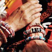 🌴 create 🌴 #summer Nos bracelets #hipanema #lockets #collection été ☀️#boutique #draguignan