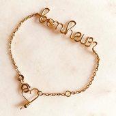 Tout est dit #bracelet 🎄#precieux #goldfiled14carats ou #argent #bracelet 🎁