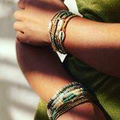 🐚🐚🐚 #bracelet #bellemaispasque #bijoux #draguignan #summermood☀️