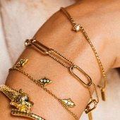 Le petit nouveau : 🐆#leopard @myabayjewels NOUVELLE COLLECTION #bracelet #collier #bague dispo à la boutique