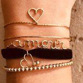 Le mix précieux #jonc et #bracelet fabriqué en France 🇫🇷 en #0r goldfiled14carats  et  #argent925 🎁🎁🎁