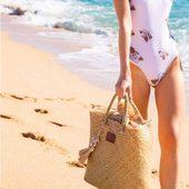 Hello 🌴☀️ à la ville où a la plage #panier dispo à la boutique 29 et 39e #draguignan #shopping