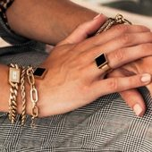 So chic #bijoux #zagbijouxofficiel #bracelet #gourmette #maillons dispo a la boutique #draguignan