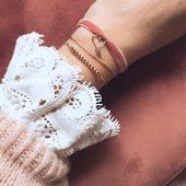 Douceur des matières nobles #or #goldfiled14k  #bracelet velours noël 29e