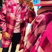 Pink mood à la boutique #today chemise longue et teeshirt @wild dispo à la boutique #draguignan