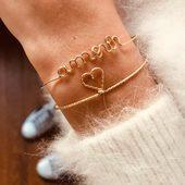 Juste de l'amour #bijoux #cadeau #symbole❤ #jonc  #goldfiled14k #boutique #draguignan